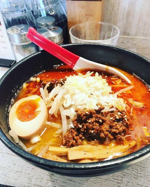「麻辣味噌ラーメン」@麺屋 誉の写真