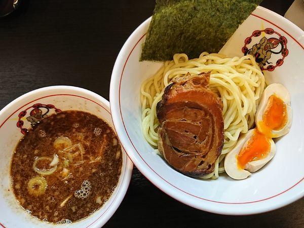「魚介つけ麺(850円)」@麵屋 雷神の写真