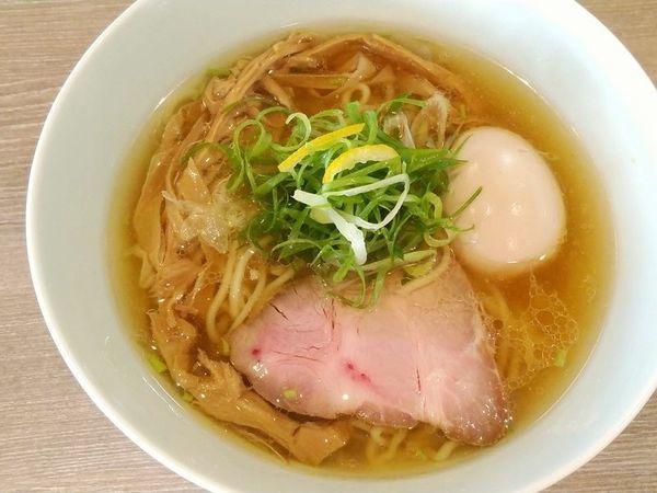 「塩そば+味玉」@中華そば 和渦 TOKYOの写真