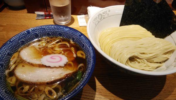 「特製清湯つけそば1030円」@神田 勝本の写真