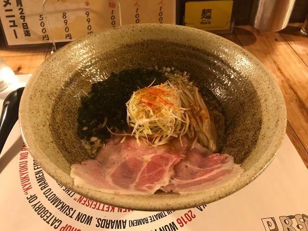 「【水曜限定】牡蠣醤油とあおさ海苔のらーめん」@創作らーめん style林の写真