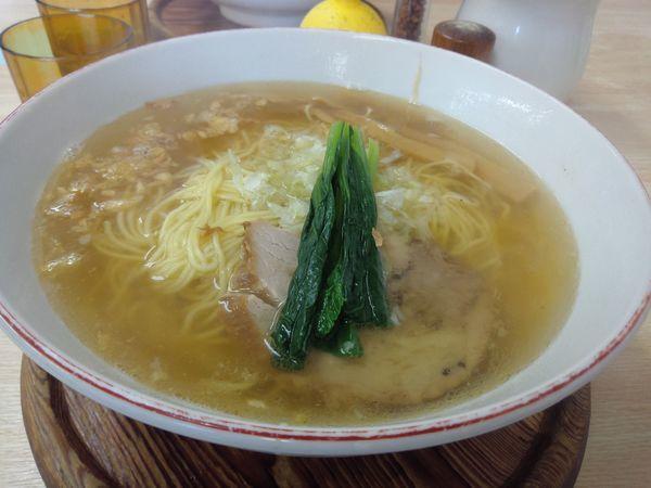 「塩ラーメン ¥800」@支那そば 心麺の写真