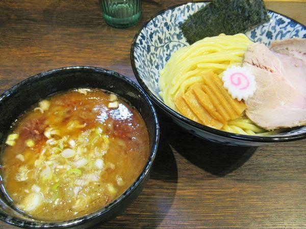 「【限定】海老香る鶏豚つけ麺(並)(900円)」@麺処はなぶさの写真