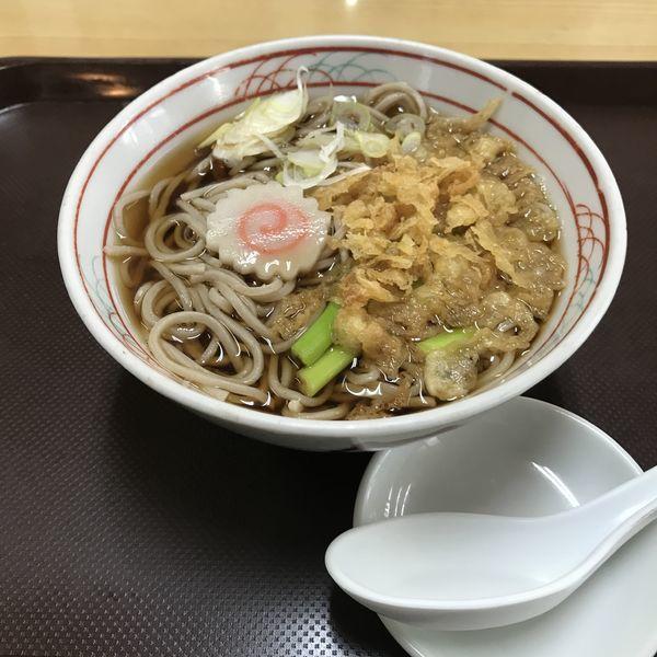 「たぬき(¥400)」@きそば かどやの写真