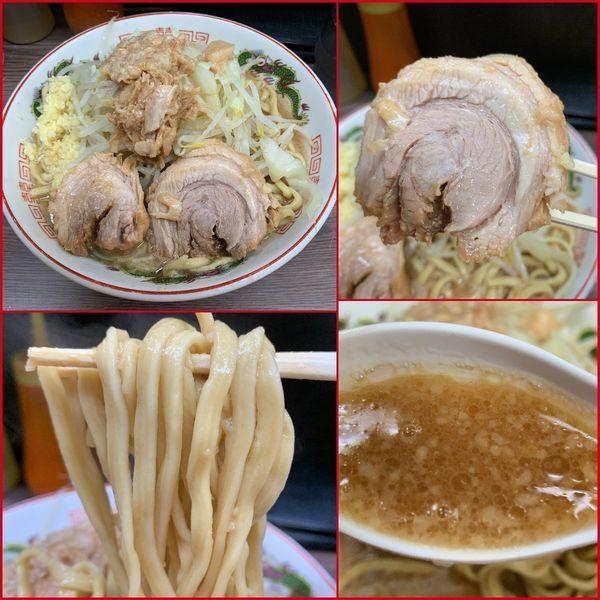 「小ラーメン¥740(麺硬め・ニンニク増し・アブラ)」@ラーメン二郎 横浜関内店の写真