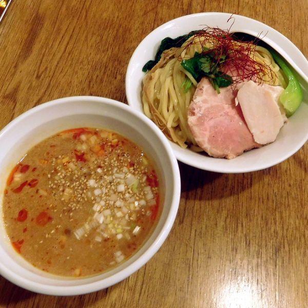 「期間限定 つけ坦々麺 大(980円)」@つけめん桜坂の写真