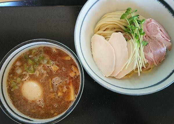 「鶏魚介の特製つけ麺 ¥1050」@つけ麺 いな月の写真
