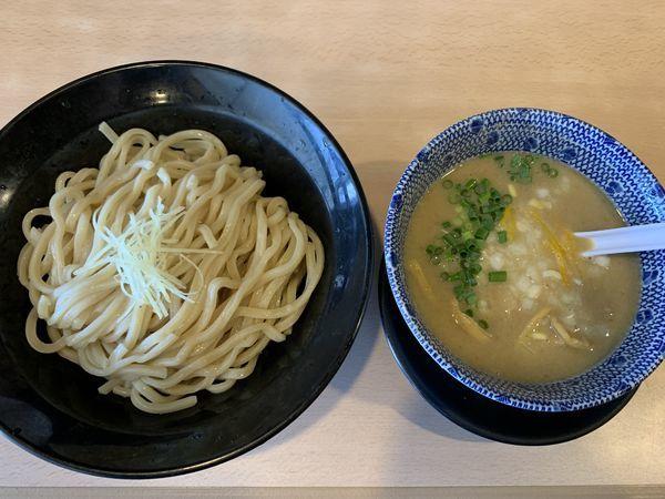 「鶏白湯つけめん 塩」@麺堂 稲葉 ~Kuki style~の写真