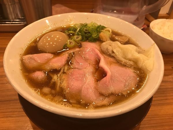 「特製煮干そば(醤油)」@中華そば ココカラサキゑの写真