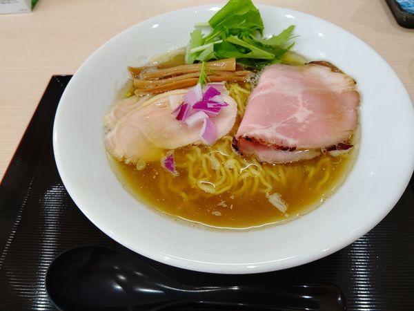 「煮干しそば(並盛・140g)720円」@らーめん つけ麺 けのひの写真
