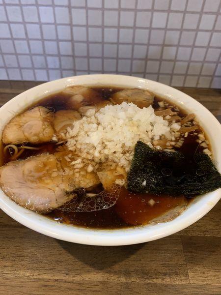 「チャーシュー麺大盛+玉ねぎ多め」@ラーメン専門 珉珉の写真