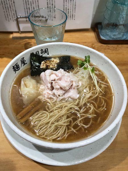 「真鯛白湯(醤油)750円+濃い目50円」@麺屋 鯛鯛の写真