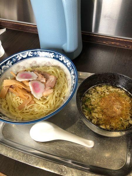 「つけ麺890円中盛100円」@煮干らー麺 カネショウ 四街道の写真