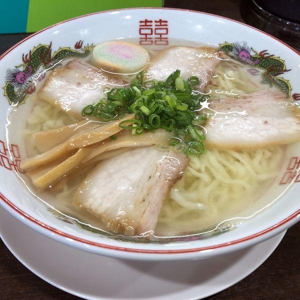 「中華そば塩(680円)」@自家製麺中華そば 番家の写真