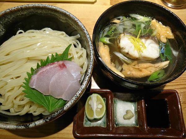 「創作塩つけ麺(黒鯥)2100円」@ラーメン 巌哲の写真