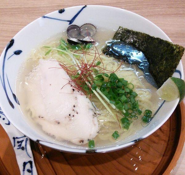 「しじみらーめん塩 900円」@麺や 空月の写真