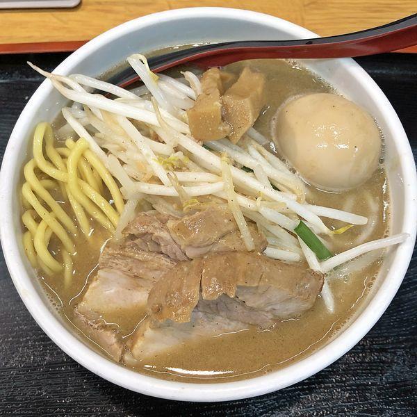 「味噌ラーメン+味玉¥950」@味噌麺処 花道の写真