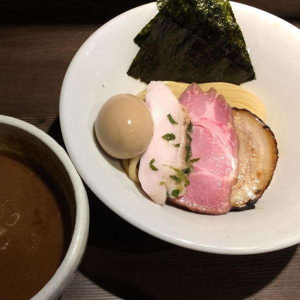 「特製伊勢海老つけ麺1200円」@つけ麺 一燈の写真