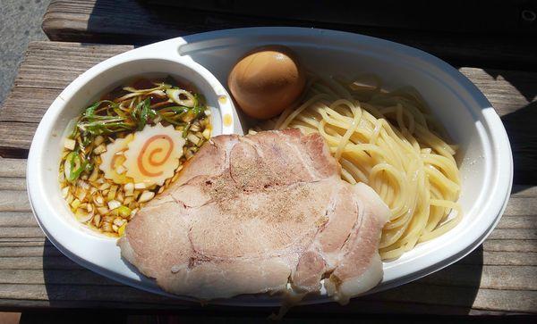「金色貝醤油つけ麺」@創作らーめん style林の写真