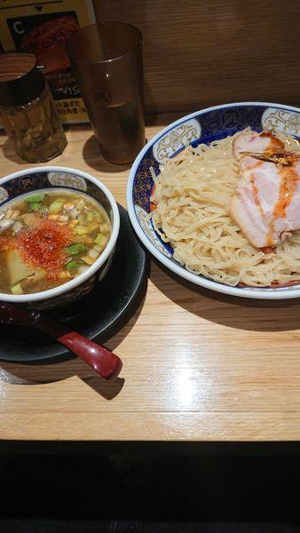 「すごい煮干つけ麺 大盛」@すごい煮干ラーメン凪 池袋西口店の写真