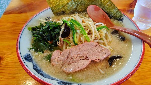 「野菜ラーメン730円」@椿 ラーメンショップ 木立店の写真