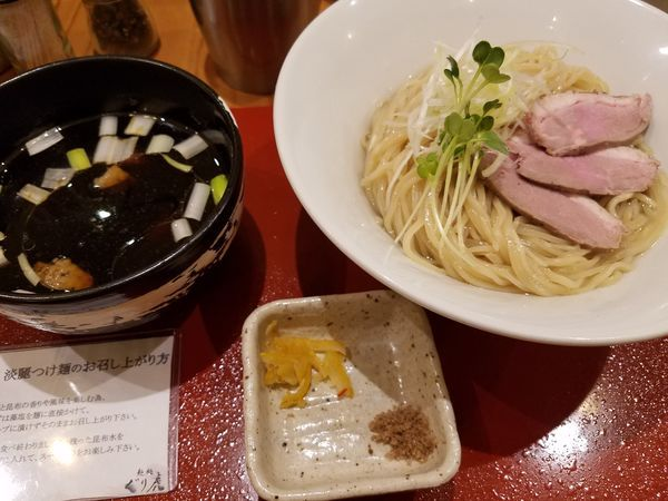 「限定 淡麗昆布水つけ麺」@麺処 ぐり虎 本店の写真