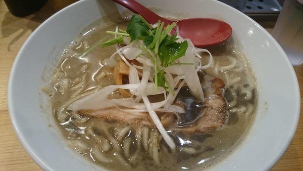 「濃厚煮干そば(850円)」@煮干麺 月と鼈の写真