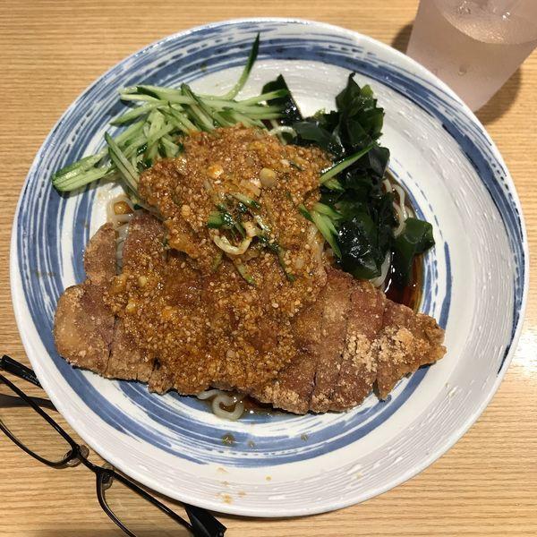 「排骨冷し担々麺」@排骨担々 五ノ井の写真