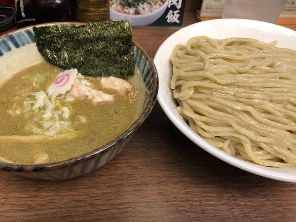 「煮番搾り 麺大盛」@つけめん 三三㐂の写真