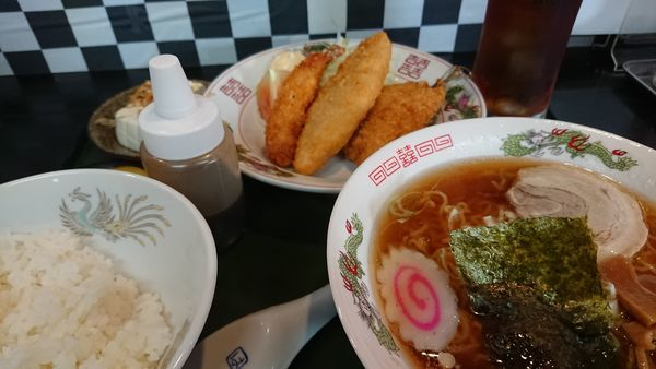 「ランチCセット」@拉麺 定食 幻驢芭 -MaHoroba-の写真