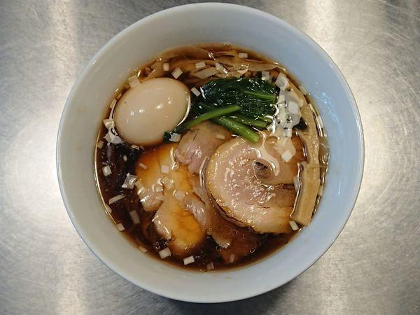 「特製鰹醤油らーめん」@Bonito Soup Noodle RAIKの写真