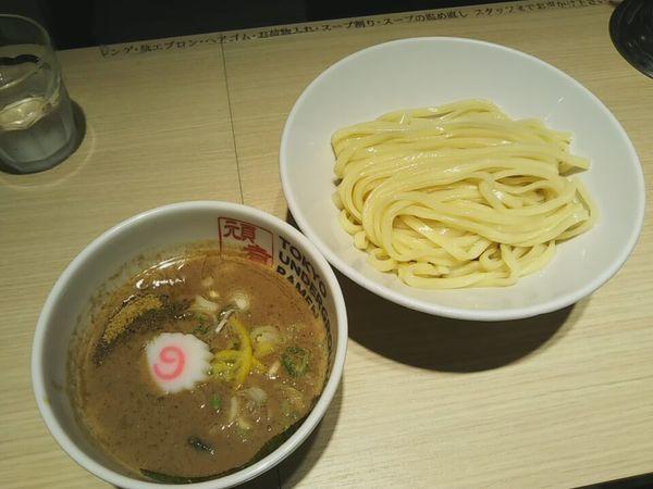 「つけ麺」@TOKYO UNDER GROUND RAMEN 頑者の写真
