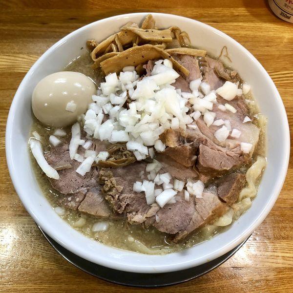 「肉中華そば 大 ¥1180」@中華そば136の写真