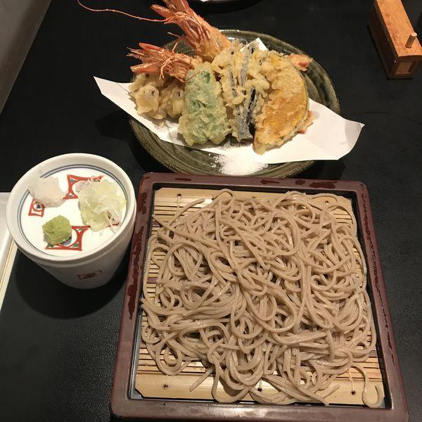 「天せいろ 上(¥2,090)※」@川上庵の写真