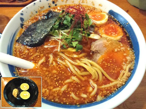 「【限定】背脂辛醤油煮干そば ¥800」@麺屋 鶏口の写真