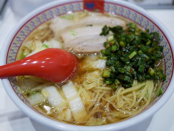 「おいしいラーメン 麺硬め」@どうとんぼり神座 エキマルシェ新大阪店の写真