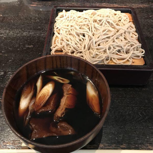 「【数量限定】鴨煮込みせいろ(¥1,750)※」@青山 川上庵の写真