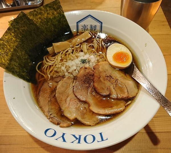 「特製琥珀(1100円)」@楽観 NISHIAZABU GOLDの写真