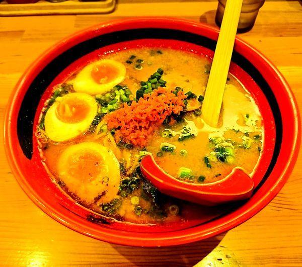 「えびしお(そのまま)+味玉(890円)」@えびそば一幻 新宿店の写真