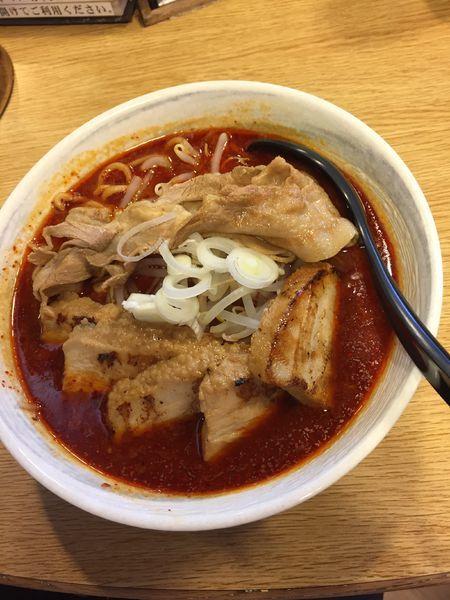 「大噴火麺チャーシュー盛り ¥1120円」@男のラーメン 麺屋 団長の写真