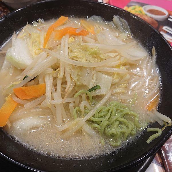 「低糖質タンメン863円他」@ガスト 栄中野店の写真