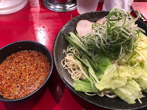 「廣島つけ麺(大盛り)」@廣島つけ麺本舗 ばくだん屋 本店の写真