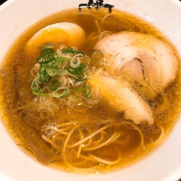 「伊駄天らー麺 (醤油) ¥780」@麺行使 伊駄天 静岡店の写真