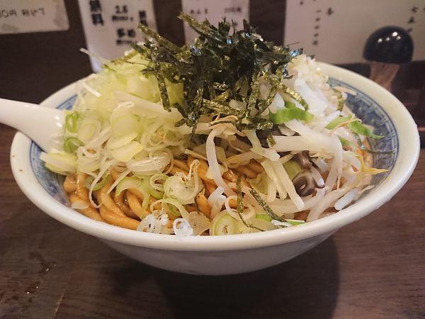 「B麺+ねぎ」@麺舗十六の写真