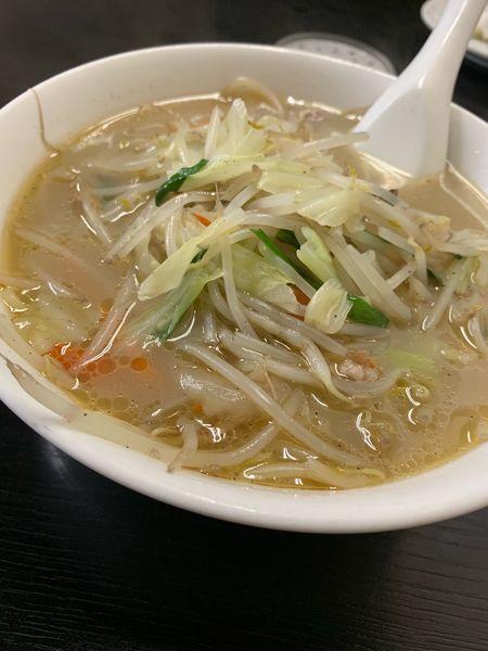 「タンメン」@中華料理 ポパイの写真