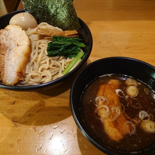 「特製KOKOROつけ麺1100円、大盛100円、ビール400」@つけめんKOKOROの写真