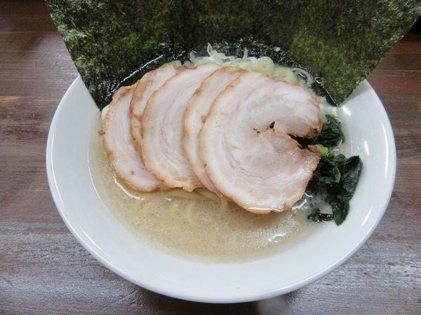 「塩チャーシュー麺(960円)」@横浜家系ラーメン 藤家の写真