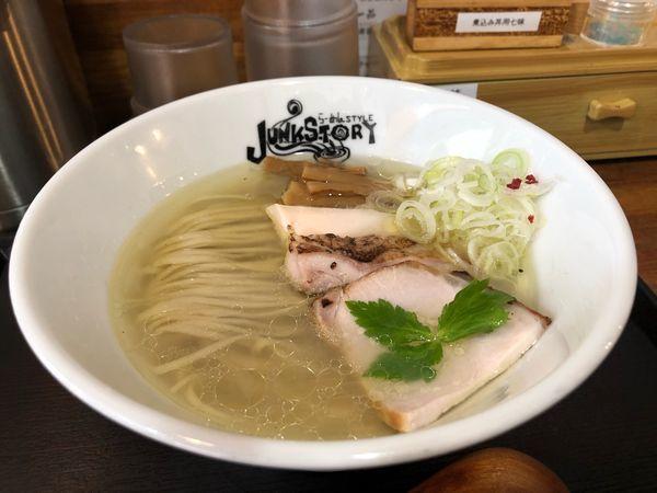 「塩のキラメキ 6S」@らーめんstyle Junk Storyの写真