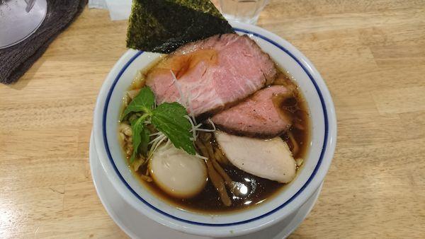 「特製中華そば」@手打式 超多加水麺 ののくらの写真