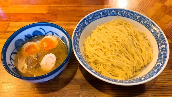 「特製つけ麺」@中華そば 青葉 八王子店の写真